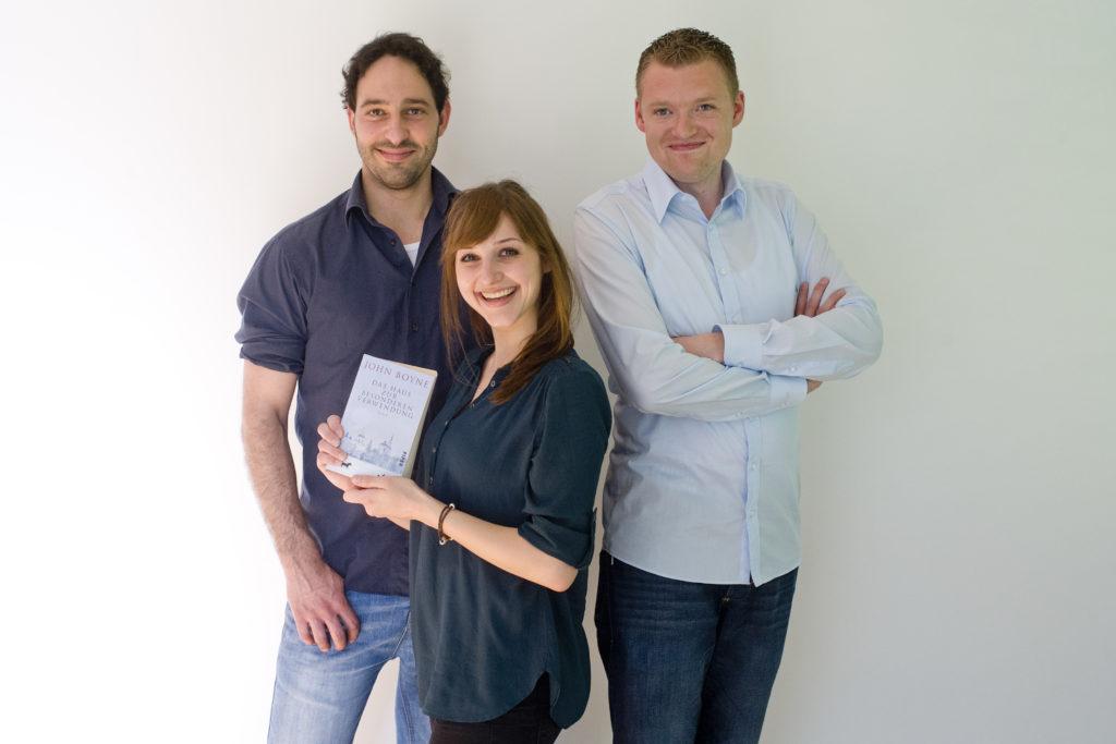 Von links nach rechts die Gründer von Lokibo: Patrick Görlich, Laila Görlich, Michael Kehrwecker