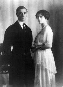 Fürst Felix Jussupow und seine Frau Irina (Copyright: Boasson and Eggler St. Petersburg Nevsky 24)